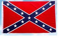 drapeau confédéré x achat en gros de-Drapeau national de polyester 5 X 3FT 40PCS de drapeau de guerre civile de rebelle confédéré de drapeau de guerre civile de rebelle
