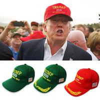ingrosso berretto da baseball pubblicità-3 stili 2020 Donald Trump Cappello da baseball Keep America Great Cap American Election Caps Donna Uomo Cappelli per sport all'aria aperta Pubblicità Regalo M524F
