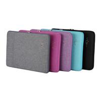 15 zoll laptop tasche großhandel-Qualitativ hochwertige schlanke tragbare Laptop-Hülle Computer Tasche 15 Zoll 15,6 Mann Frauen Business Tasche Reisetaschen versandkostenfrei # 563803