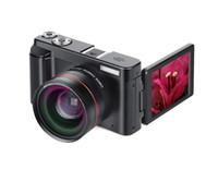 verwacklungen großhandel-Neue tragbare spiegellose Systemkameras 16X Digitalzoom 24MP 3,0-Zoll-TFT-Bildschirm Gesichtserkennung Anti-Shake-HD-WiFI-Kamera
