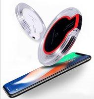 ingrosso bordo ultra sottile samsung s6-Caricabatteria da viaggio ultra sottile con ricarica ultra sottile per Samsung Note 8 S8 S6 Edge con pacchetto di vendita al dettaglio