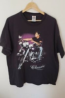 Wholesale king motorcycle for sale - Group buy Vintage s The King Elvis Presley Classic Motorcycle Shirt Size XL