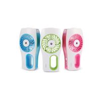 rohs zerstäuber großhandel-Reizender Ventilator USB-reiner Luftbefeuchter frischer erfrischender Duft ehicular ätherisches Öl Ultraschall kühler Nebelbefeuchter Aromanebelauto Diffu