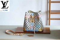 белый шелковый тотальный мешок оптовых-Замок Шелкография Pattern White Сетка Neonoe Ковш сумка N41066 сумки СУМКИ ручки плеча сумки Totes вечер Cross Body Bag