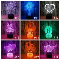 Wholesale black lamp diy for sale - Group buy Haoxin touch switch Modern Black USB Cable Remote Control Night Light Acrylic D Led night lamp Assembled Base
