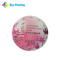 Wholesale professional manufacturing online - Professional printing factory with Manufacture strong adhesive printing custom cosmetic labels sticker for Jar