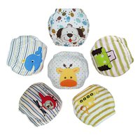 Wholesale toddlers diapers waterproof baby pants for sale - Group buy 5Pcs Cartoon Baby Training Pants Waterproof Diaper Pant potty toddler panties New underwear Reusable Diapers