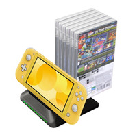 Wholesale nintendo chargers for sale - Group buy Charging Dock for Nintendo Switch Lite Nintendo Switch Switch Lite Charger Stand Station with game disc case holder