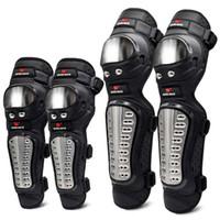 ingrosso protezione del motociclo del ginocchio del gomito-Protezioni per downhill Protezioni per elbowknee Attrezzature per moto da cross Motocross Protezione da ciclismo Protezione da mountain bike Protezione per gomiti T190720