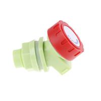 grifos de grifos de plastico al por mayor-1 UNIDS Plástico Al Aire Libre Grifo de Agua Grifo Perilla de Agua Grifo Grifo de Reemplazo para Tanque Cubo Botella de Jugo de Vino