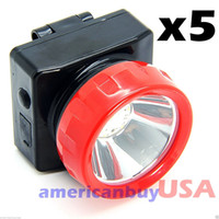 Wholesale miner lamps for sale - Group buy of Wireless LED Light Head Lamp Miner Mining Work Camping Hunting Outdoors