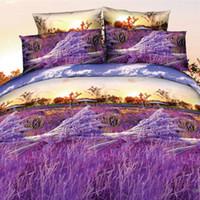 Wholesale girls flower comforter bedding sets resale online - 3D Bedding Set luxury Flower Print Family Set Include Duvet Cover Comforter Pillowcases for Women Girls Room Bed New