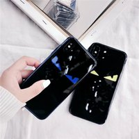 Wholesale italy case for sale - Group buy Fashion Luxury designer Super Italy Devil Eyes Phone Case For iPhone Pro MAX X XS XR s Plus fashion trend Tempered glass Cover