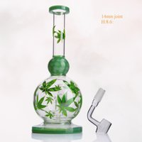 Wholesale martian glass bubbler for sale - Group buy Round Ball Dab Oil Rig Glass Bong Water Pipe Small Smoking Pipes Martian Blunt Bubbler with glass Banger