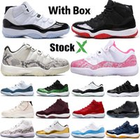 Wholesale light up gown resale online - With Box Stock X Bred Mens Basketball Shoes s Concord High Platinum Tint Space Jam Cap and Gown Men Women Sports Sneakers SZ
