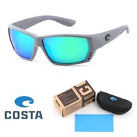 Wholesale polaroid sunglasses for drive resale online - Top quality COSTA sunglasses for Men Women TR90 Frame Polarized lens Outdoor beach Eyewear Driving Sport Sun Glasses With Retail box