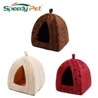 Wholesale korean princess bedding for sale - Group buy New Arrive Pet Kennel Super Soft FabricDog Bed Princess House Specify for Puppy Dog Cat with Paw Cama Para Cachorro Hot Y200330