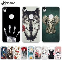 Wholesale mobile shine online – custom Mobile Phone Accessories Mobile Phone Cases Covers AKABEILA Soft TPU fundas Cases For Alcatel Shine Lite One Touch Shine Lite X