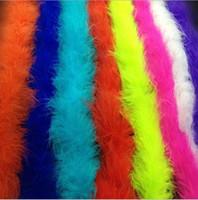 feather boas бесплатная доставка оптовых-Боа из перьев марабу для карнавальных костюмов с бурлескной боа