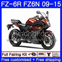 Wholesale fz6r fairings resale online - Body For YAMAHA FZ6N FZ R Light orange hot HM FZ R FZ6 R FZ N FZ6R Fairings