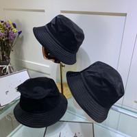 Wholesale plain bucket hat resale online - bucket hat mens women bucket fashion fitted sports beach dad fisherman hats ponytail baseball caps hats snapback