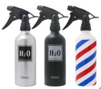 garrafa de cor do cabelo venda por atacado-Barbershop grande pode Catalyst desinfecção salão de cabeleireiro molhado regador regador de pulverização de tela de seda 500 ml