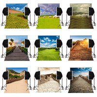 Wholesale photography wall backdrops online - custom great wall scenic x7FT vinly photography backdrops for wedding photos prop studio camera fotographical background backdrop