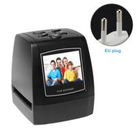 scanner de cartão usb portátil venda por atacado-Rápida Lanterna de Slides Portátil Cartão de Alta Resolução Suporte JPEG Display LCD Mini Scanner de Filme Placa Fotográfica Conversor