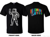 milyarder çocuklar toptan satış-2019 Moda giyim Yeni GÖMLEK Milyarder Boys Kulübü Astronot Kısa kollu
