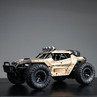 Wholesale remoter control cars resale online - 4WD Electric RC Car Rock Crawler Remote Control Toy Cars On The Radio Controlled x4 Drive Off Road Toys For Boys Kids Gift