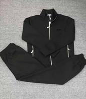 top quality men cotton tracksuit slongsleeve casual sportsuit asian size m-3xl