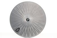 ruedas ud al por mayor-Toray rueda de fibra de carbono 700c rueda de disco rueda de disco de carbono ruedas traseras tubulares para carretera / pista TT bicicleta OEM carbono remachador de bicicleta juego de ruedas