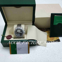 Wholesale watch glass boxes resale online - Best N Factory V5 version Style Movement Watch Black mm Ceramic Bezel Sapphire Glass diving Men Watch Watches New style box