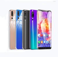 gps mtk6592 venda por atacado-P20 pro multa imitação 6.1 polegadas MTK6592 Desbloqueado telefone octa Core Android 8.1 1g + 4g show falso 4g + 64G para Dual SIM