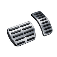 Wholesale brake clutch gas pedals for sale - Group buy Stainless Car Accelerator Gas Brake pedal Clutch Pedal