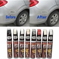 ingrosso penne auto-8 colori 12ml Nuova vernice professionale per auto riparazione penna impermeabile Fix It Pro Clear Car Scratch Remover Penne pittura