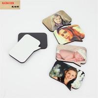 Sublimation Blank 8DI-012 DIY Refrigerator Sticker Fridge Magnet For Kids Message Holder Home Decor