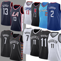 ingrosso pallacanestro maschile-Uomini NCAA Kyrie 7 Kevin Durant Jersey Irving Kawhi 2 Leonard Paul 13 George college Basketball maglie