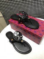 Wholesale girl flops resale online - 2020 TT Women Designer Sandals Casual Flip Flops Multi Color Size Luxury Girl Slides Women Sandals TK B104936W
