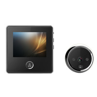 Wholesale video peephole night vision for sale - 1pcs HD Video Peephole Security Visual Doorbell LCD Screen Intelligent Electronic Cat Eyes with MP IR Night Vision Cameras DD2