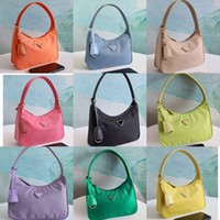 Wholesale leather hand bags resale online - Top quality Designer hobo shoulder bag for women reedition Chest pack lady Tote chains hand bags presbyopic purse bag vintage handbags