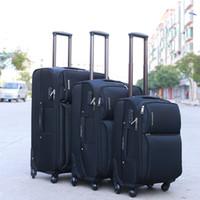 ingrosso bluetooth cuffie viola-Valigia trolley impermeabile di alta qualità, valigia universale per ruote, bagaglio anti-drop di grande capacità, cartone da 20 pollici