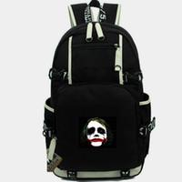 ingrosso porta della porta-Joker zaino Eric Border Jack Napier borsa da scuola Super hero stampa daypack Casual computer zainetto Out door zaino Sport day pack