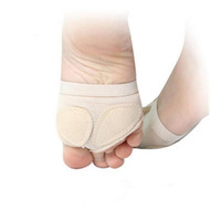 ingrosso coperture danza punta-Vendita calda balletto danza zampe copertura piede avampiede punta protettore cuscino mezza protezione spedizione gratuita