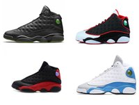 chaussures de basket-ball j13  achat en gros de-Haute qualité J13 Man Hyper royal de basket-ball Sneaker Olive Bred Chicago Flint Altitude 13s Sneakers Amour Respect Sport Formation Hommes Chaussures