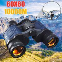 gece görüşleri toptan satış-Teleskop 60X60 HD Dürbün Yüksek Netlik Için 10000 M Yüksek Güç Açık Avcılık Optik Lll Gece Görüş dürbün Sabit Yakınlaştırma