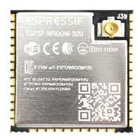 kartenleser 1,8 zoll großhandel-ESP32-WROOM-32U IPEX ESP-32 ESP-32S 4 MB Flash-SMD ESP32 Wifi Bluetooth-Modul Externe Antenne ESP32-D0WD-Modul Espressif Großhandel