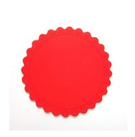 Wholesale color placemats resale online - Silicone Placement Table Mats Non Slip Drink Coaster Placemats for Table Mats Cup Pad Tableware Silicone Heat Resistant Kitchen Tool Gifts