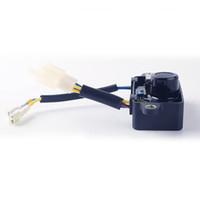 gleichrichter groihandel-1pc Schwarz Spannung Rectifier E-Start für einphasige 2KW-3KW chinesischen Benzin-Generator AVR 110 * 38 * 35mm