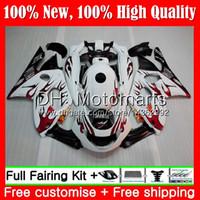 yamaha thundercat 1996 fairings toptan satış-Kırmızı alevler YAMAHA YZF600R Thundercat 96 97 98 99 00 01 86MT12 YZF-600R YZF 600R 1996